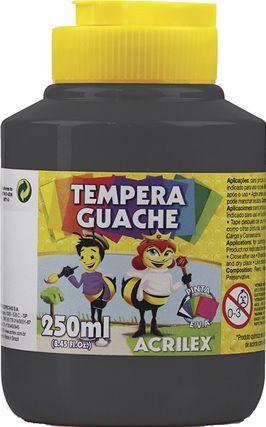 TINTA Guache Preto Acrilex 250ml