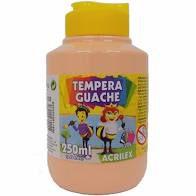 Tinta Guache 250 Ml 538 Amarelo Pele