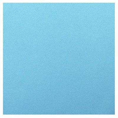 EVA Emborrachado Azul Claro 40x60cm BRW - Esp 2mm - PT c/ 10 Unid