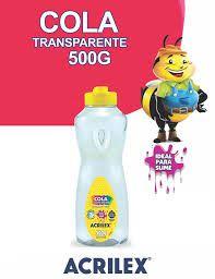 Cola Transparente Acrilex 500 G