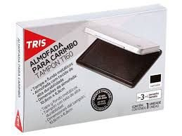 Almofada Para Carimbo T160 – Tris preto