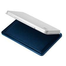 Almofada Carimbo Tris T160 No. 03 com tinta azul