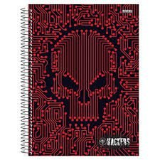 Caderno Universitário Hackers 1 Matéria São Domingos 96folhas