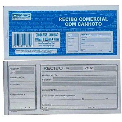RECIBO COMERC C/ CANHOTO 50F 200X91