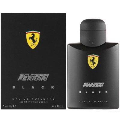 Perfume Ferrari Black Eau De Toilette- 125ml