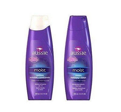 Kit Aussie Moist - Shampoo + Condicionador