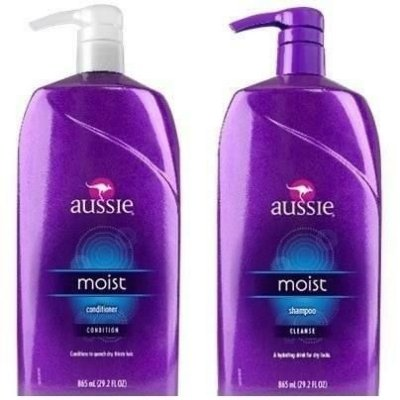 Kit Aussie Moist - Shampoo 865mll + Condicionador 865ml