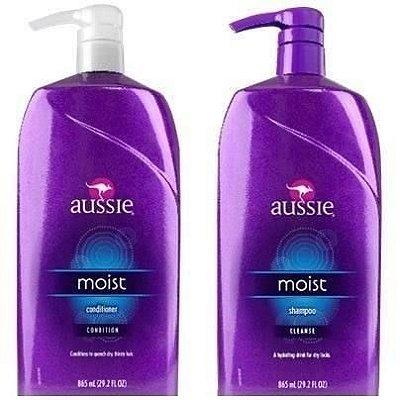 Kit Aussie Moist - Shampoo 865mll + Condicionador 865ml