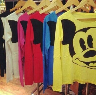 Tricô Mickey