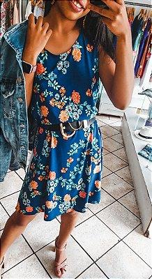 Vestido Estampado Solto