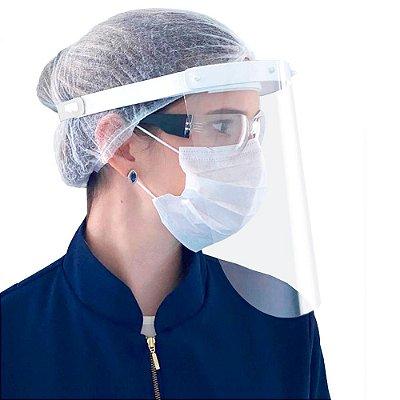 Protetor de Rosto com Certificado Anvisa - Kit c/ 3 unidades - VisProtek - Aditek