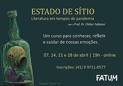Curso: Literatura em tempos de pandemia
