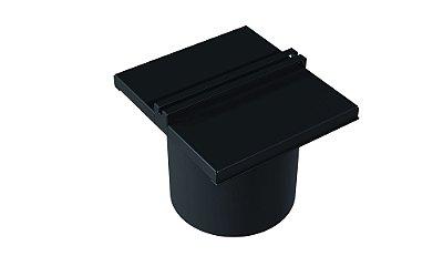 Lixeira para calha 150 mm BLACK