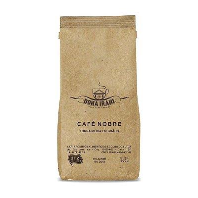 Café Dona Irani Nobre torrado em grãos 500g - Gourmet