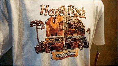 Camiseta HARD ROCK CAFE CURITIBA - MOTOR SHOW (edição limitada)