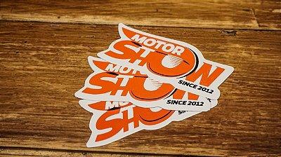 Adesivo - MOTOR SHOW SINCE 2012 (kit com 5 unidades)