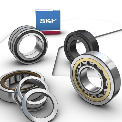 NU 206 ECKP/C3 - Rolamentos de Rolos Cilíndricos - SKF