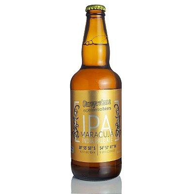 Cerveja Ouropretana IPA Maracujá 500ml