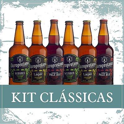 Kit Clássicas 1 - Caixa c/ 6 unidades