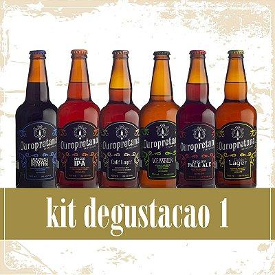 Kit Degustação 1 - Caixa c/ 6 unidades