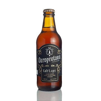 Cerveja Ouropretana Café Lager 330ml