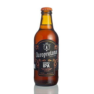 Cerveja Ouropretana Ginger IPA 330ml