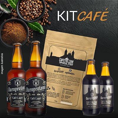 Kit Café - 4 Cervejas - Ganhe 1 Café Maltado