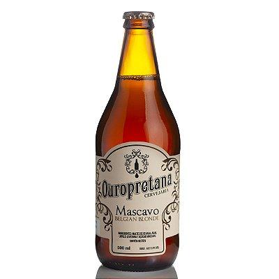 Cerveja Ouropretana Mascavo Belgian Blonde 500ml