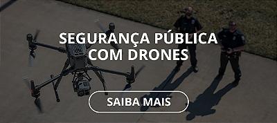 SEGURANÇA COM DRONES SUPER IMPORTADORA