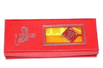 Marcador de Livro - Riqueza Abundante (Zhāo Cái Jìn Bǎo; 招财进宝)