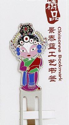 Marcador de Livro - Mù Guìyīng (穆佳英) -Símbolo Cultural da Mulher Forte