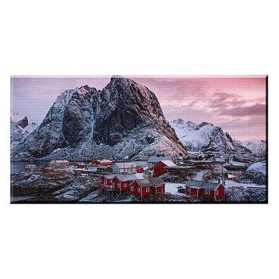 Quadro Paisagem Montanhas 01 Tela Decorativa