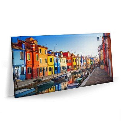 Quadro Veneza Porto Italia Tela Decorativa