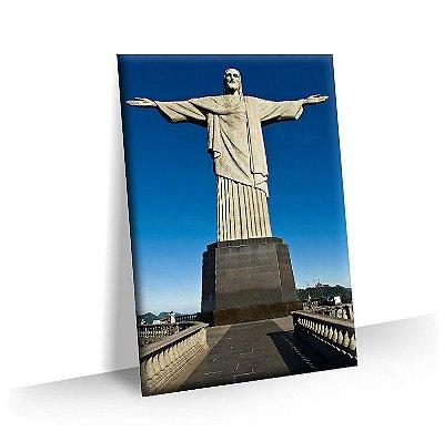 Quadro Cristo Redentor Rio de Janeiro Tela Decorativa