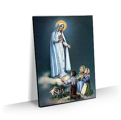 Quadro Nossa Senhora de Fatíma Tela Decorativa
