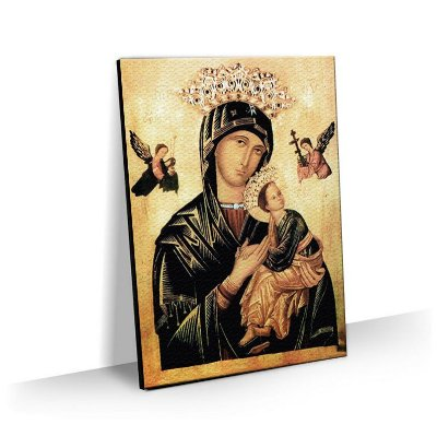 Quadro Nossa Senhora Perpetuo Socorro Tela Decorativa
