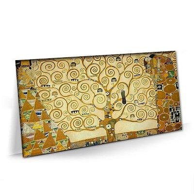 Quadro Arvore da Vida Gustav Klimt Tela Decorativa
