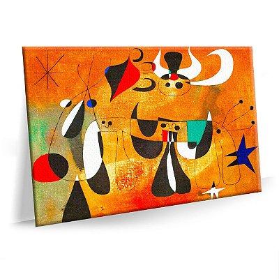 Quadro Joan Miro Pitor  02 Tela Decorativa
