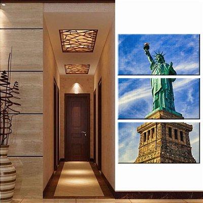 Quadro Estatua da Liberdade 3 Tela Decorativa