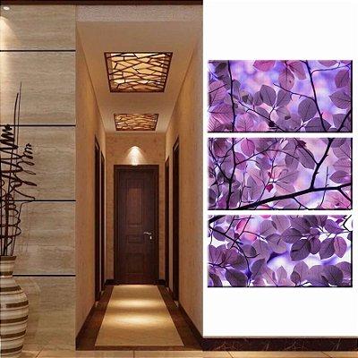 Quadro Natureza Flor 3 Tela Decorativa em tecido