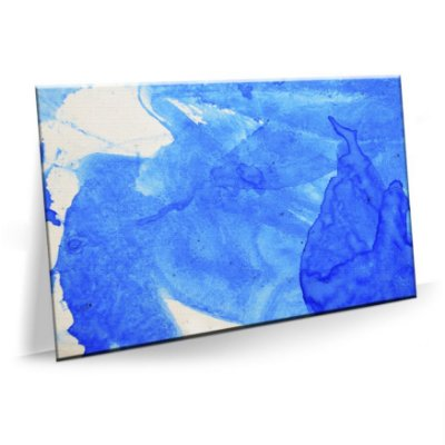 Quadro Abstrato Blue Water Tela Decorativa