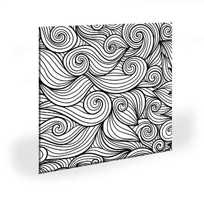 Quadro Abstrato Geometrico Linhas Tela Decorativa