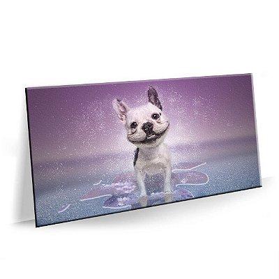 Quadro Cão Cachorro Feliz Tela Decorativa