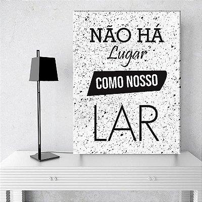 Placa Decorativa Nosso Lar (AL) 30X40CM