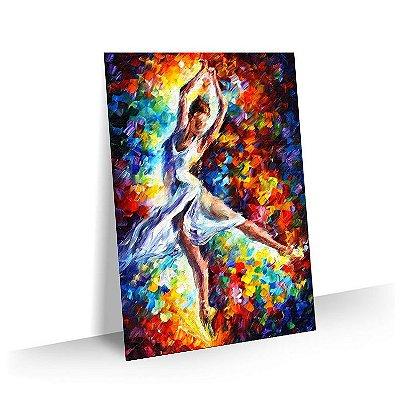 Quadro Abstrato Pintura 03 - Tela Tecido Canvas