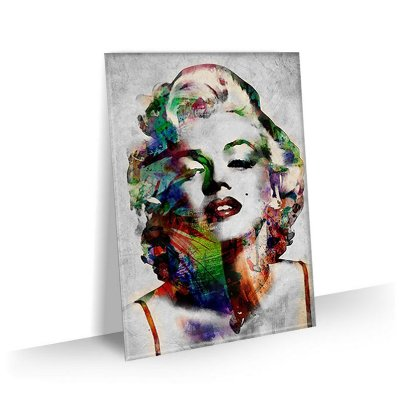 Quadro Marilyn Monroe Abstrato Tela Decorativa