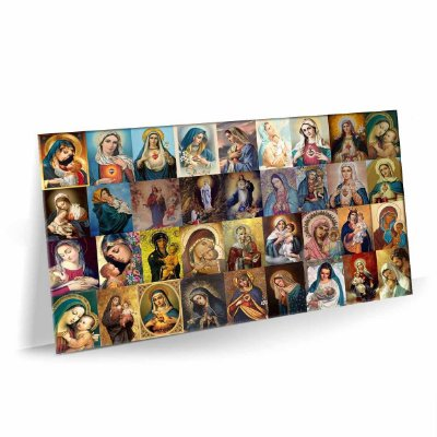 Quadro Virgem Maria Tela Decorativa