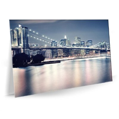 Quadro Ponte Brooklin Bridge Tela Decorativa