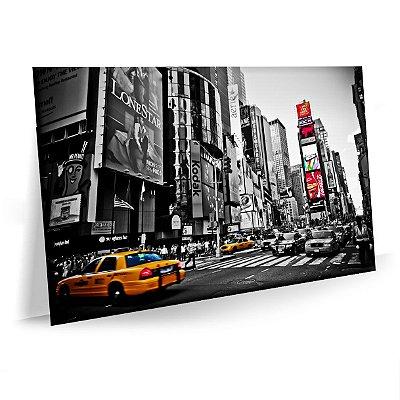 Quadro Times Square Tela Decorativa
