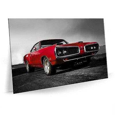 Quadro Dodge Classico Tela Decorativa